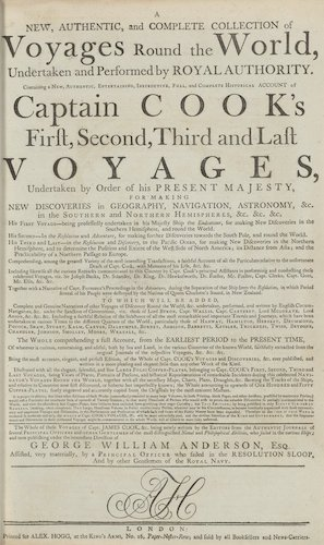 English - A New, Authentic, and Complete Collection of Voyages Round the World