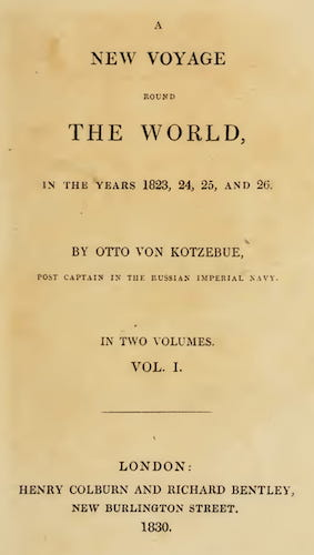 English - A New Voyage Round the World Vol. 1