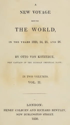Aquatint & Lithography - A New Voyage Round the World Vol. 2