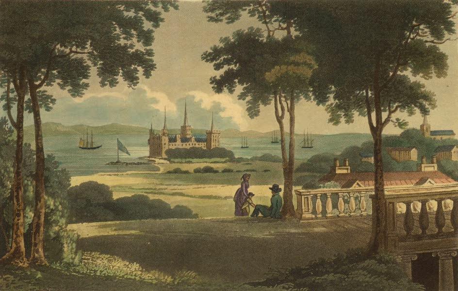 A Northern Summer - Cronborg Castle and Elsineur from Hamlet's Garden (1805)