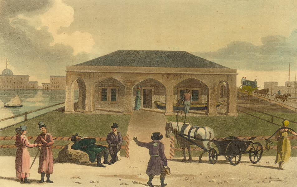 A Northern Summer - House and Boat built by Peter the Great (1805)