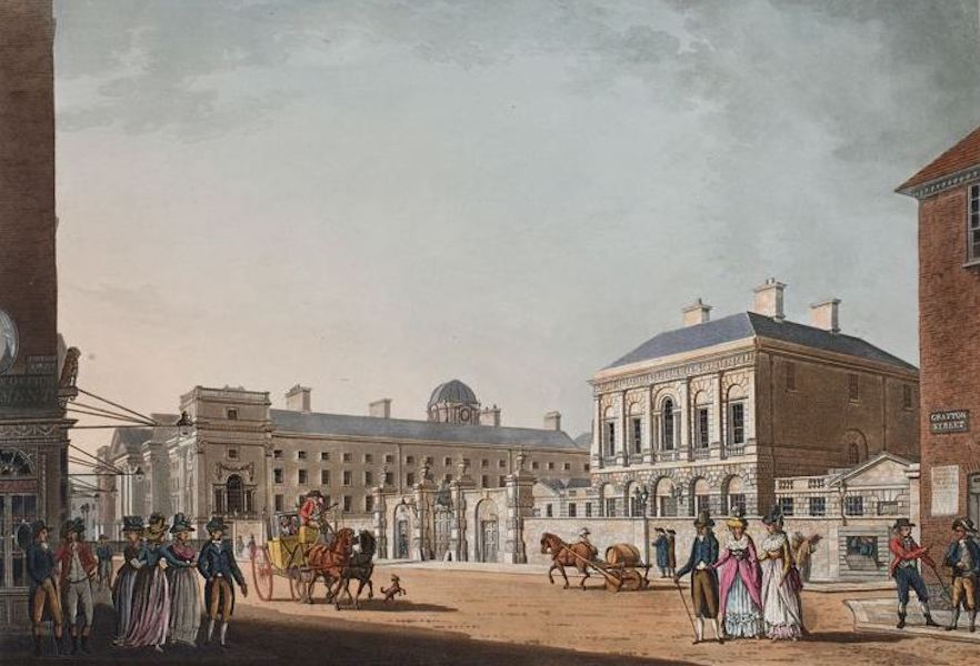 A Picturesque and Descriptive View of the City of Dublin - Provosts House, Dublin (1811)