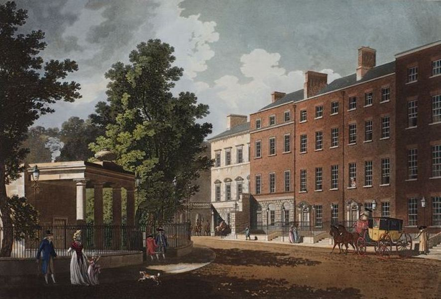A Picturesque and Descriptive View of the City of Dublin - Charlemont House, Dublin (1811)