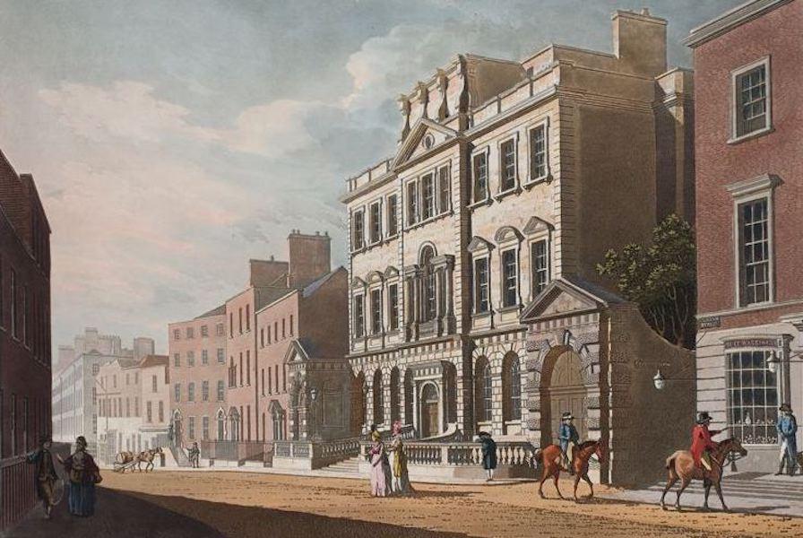 A Picturesque and Descriptive View of the City of Dublin - Powerscourt House, Dublin (1811)