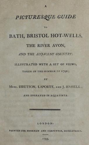 A Picturesque Guide to Bath (1793)