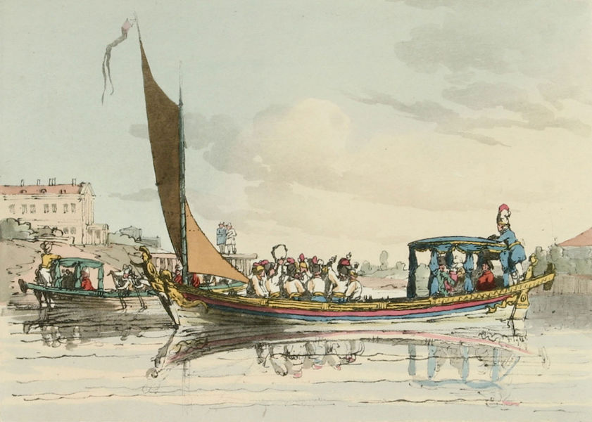 A Picturesque Representation of the Russians Vol. 1 - Pleasure Barges (1803)