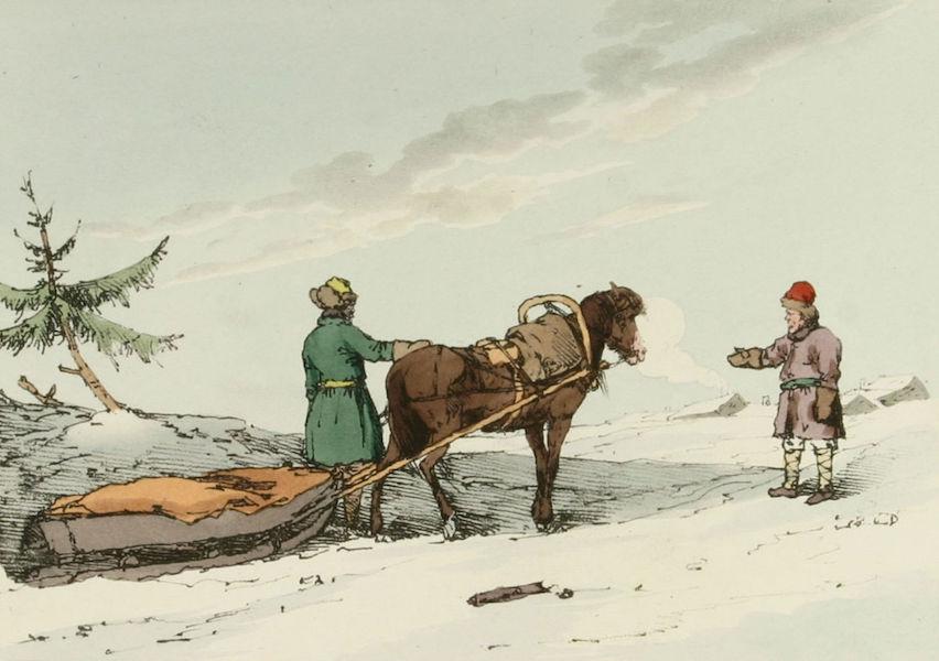 A Picturesque Representation of the Russians Vol. 1 - Finland Sledge (1803)