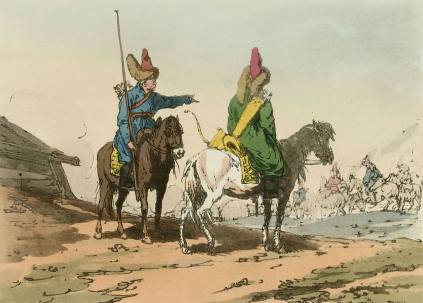 A Picturesque Representation of the Russians Vol. 1 - Baschkirs (1803)