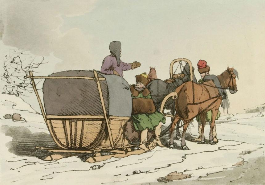 A Picturesque Representation of the Russians Vol. 1 - Winter Kibitka (1803)