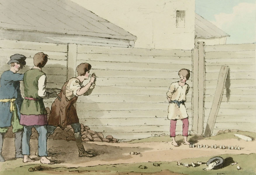 A Picturesque Representation of the Russians Vol. 1 - Babki (1803)