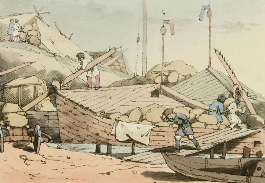 A Picturesque Representation of the Russians Vol. 1 - Corn Banks (1803)