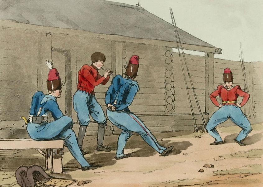 A Picturesque Representation of the Russians Vol. 1 - Cozack Dance (1803)