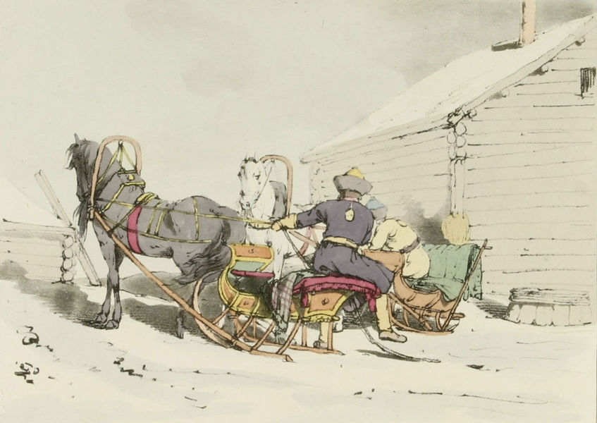 A Picturesque Representation of the Russians Vol. 1 - Sledge (1803)