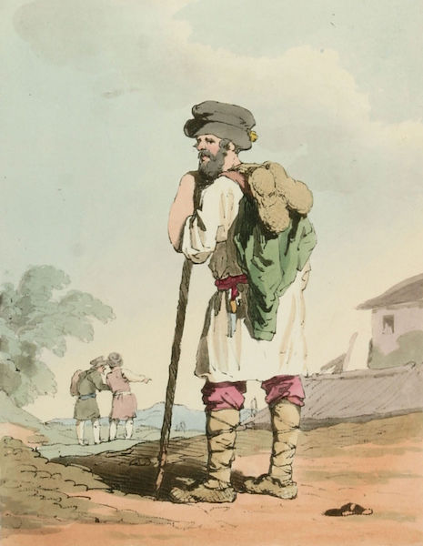 A Picturesque Representation of the Russians Vol. 1 - Russian Peasant (1803)