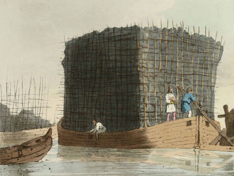 A Picturesque Representation of the Russians Vol. 1 - Charcoal Bank (1803)