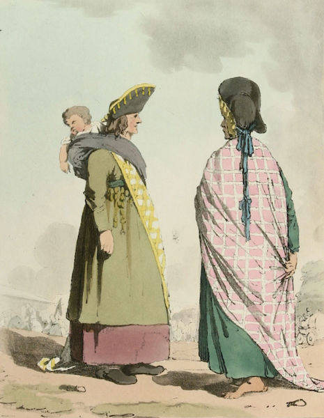 A Picturesque Representation of the Russians Vol. 1 - Gipsies (1803)