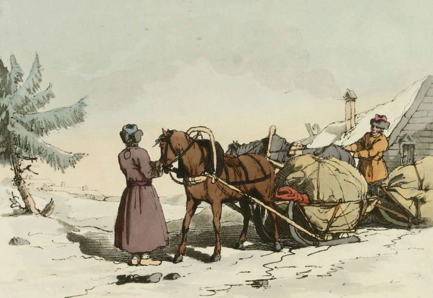 A Picturesque Representation of the Russians Vol. 1 - Winter Carriers (1803)