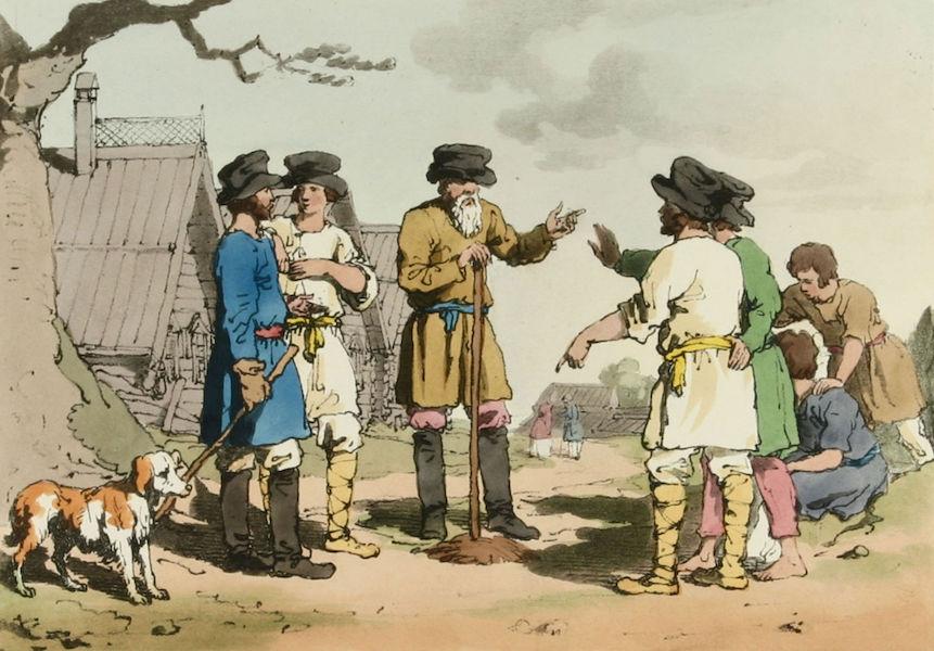 A Picturesque Representation of the Russians Vol. 1 - Village Council (1803)