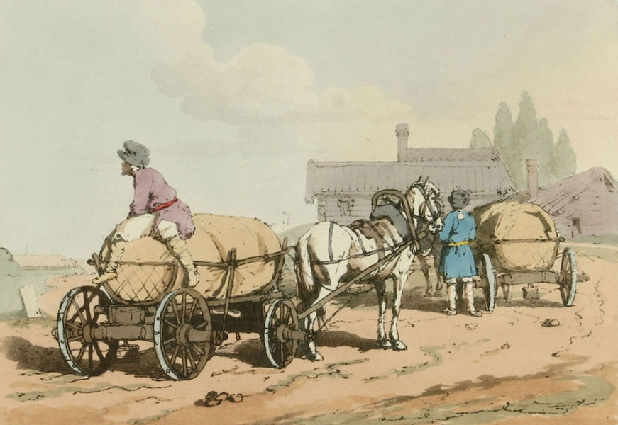 A Picturesque Representation of the Russians Vol. 1 - Summer Carriers (1803)