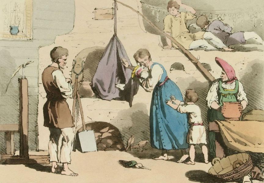 A Picturesque Representation of the Russians Vol. 1 - Izba (1803)