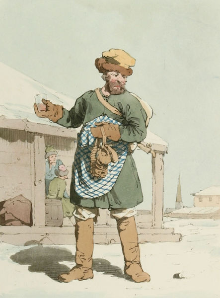 A Picturesque Representation of the Russians Vol. 2 - Zbitenshik (1804)