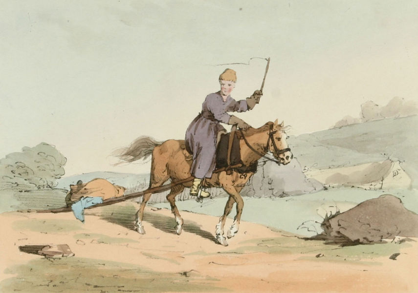 A Picturesque Representation of the Russians Vol. 2 - Finn Girl going to Market (1804)