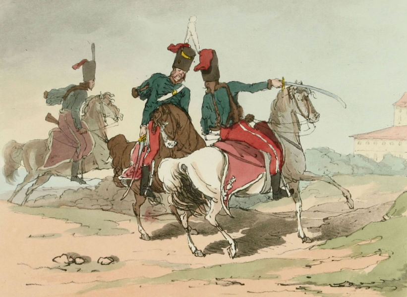 A Picturesque Representation of the Russians Vol. 2 - Hussars (1804)