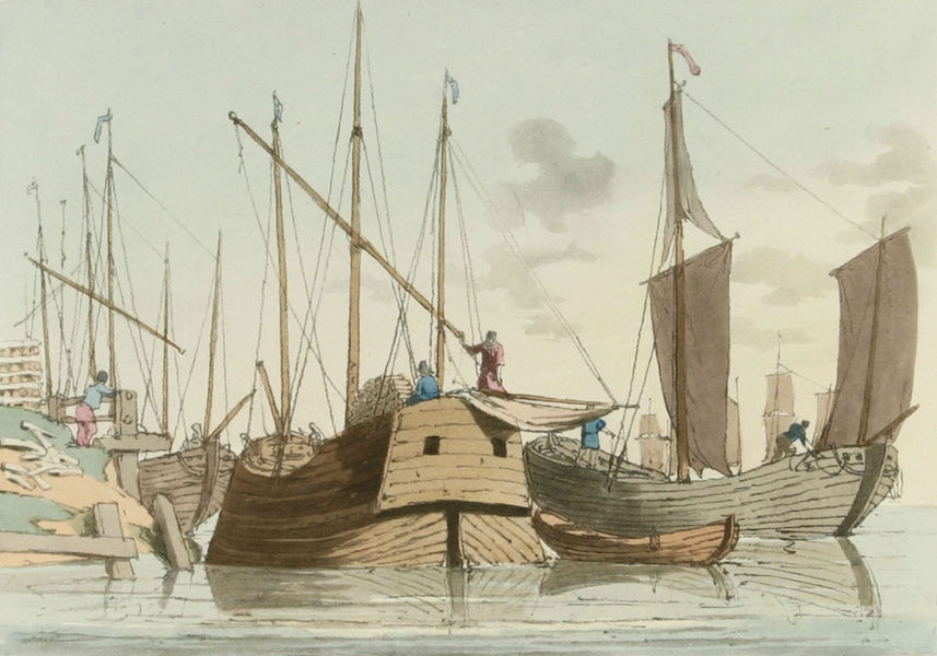 A Picturesque Representation of the Russians Vol. 2 - Finland Wood Barks (1804)