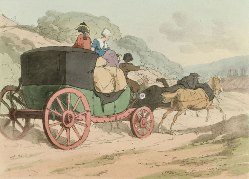 A Picturesque Representation of the Russians Vol. 2 - Court Caleche (1804)