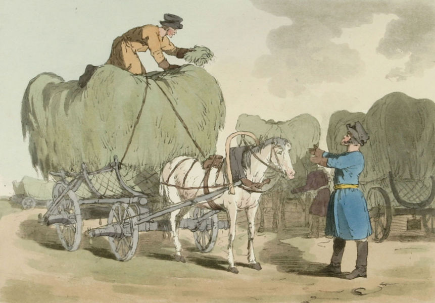 A Picturesque Representation of the Russians Vol. 2 - Hay Carts (1804)