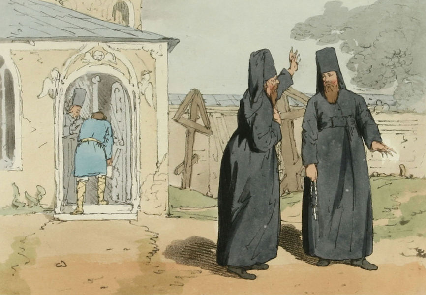 A Picturesque Representation of the Russians Vol. 2 - Monks (1804)