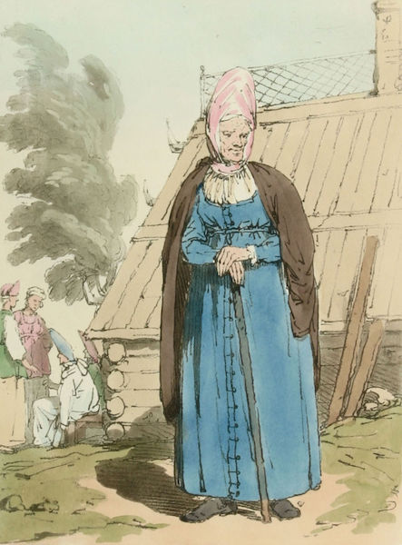 A Picturesque Representation of the Russians Vol. 2 - Baba or Old Woman (1804)
