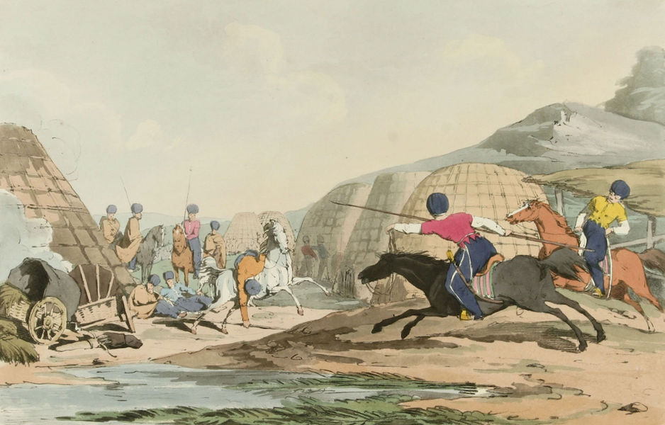 A Picturesque Representation of the Russians Vol. 2 - Tartar Camp (1804)
