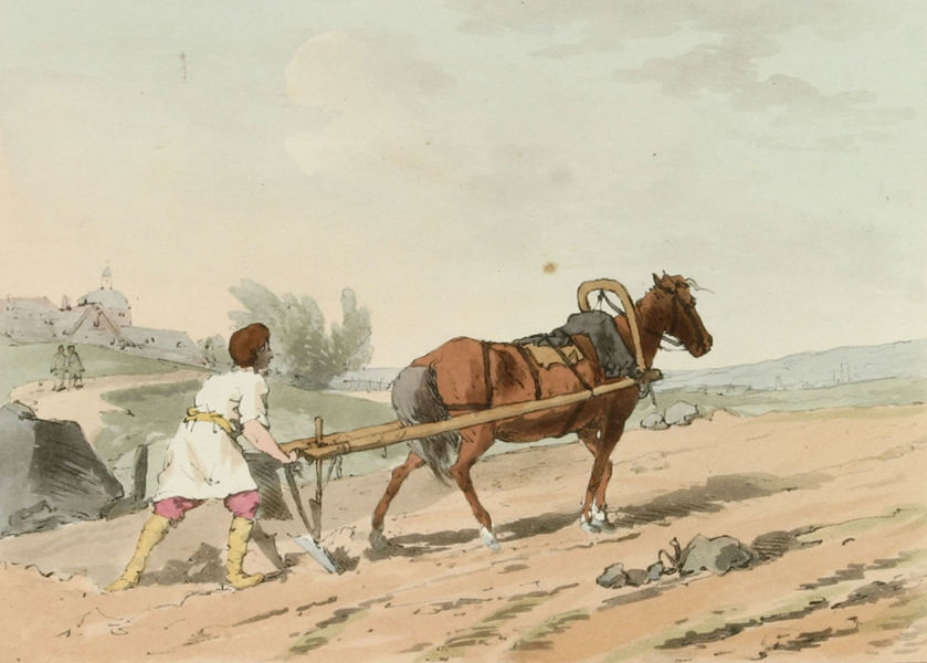 A Picturesque Representation of the Russians Vol. 3 - The Plough (1804)