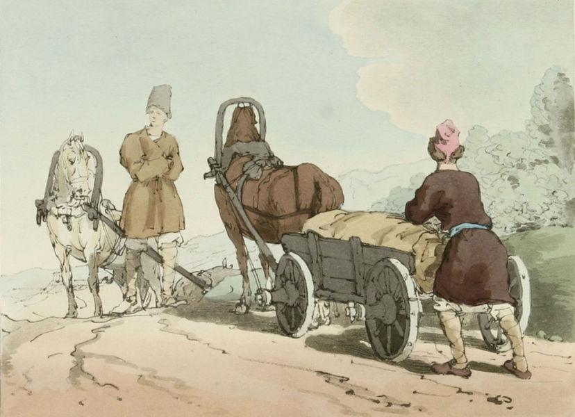 A Picturesque Representation of the Russians Vol. 3 - Smolenski Carts (1804)