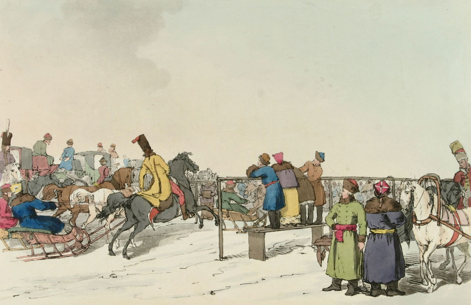 A Picturesque Representation of the Russians Vol. 3 - Race Course (1804)