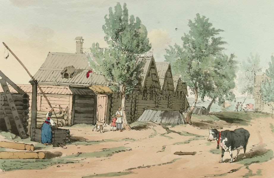 A Picturesque Representation of the Russians Vol. 3 - A Russian Village (1804)