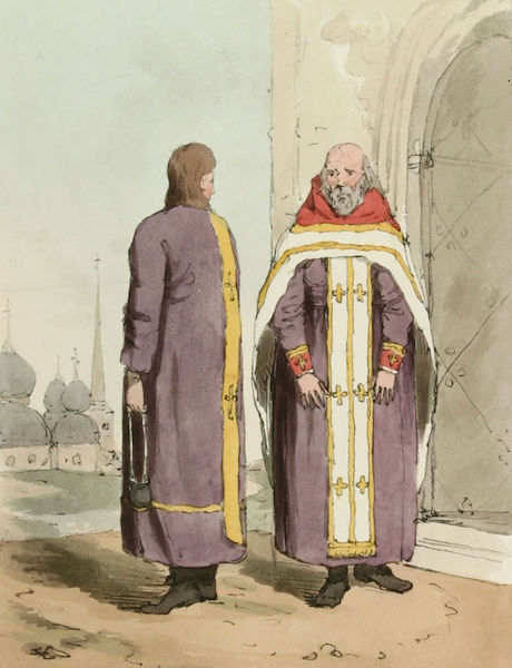 A Picturesque Representation of the Russians Vol. 3 - Russian Priests (1804)