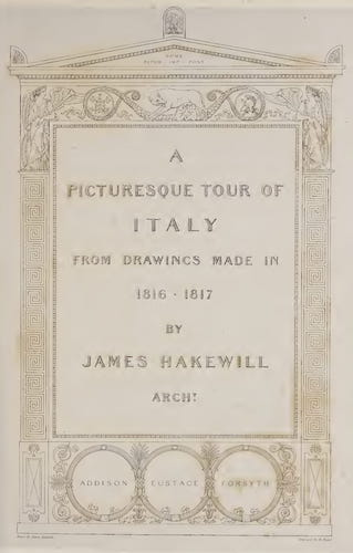 Aquatint & Lithography - A Picturesque Tour of Italy Vol. 1