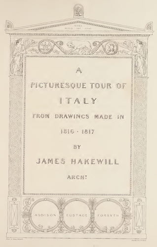 Aquatint & Lithography - A Picturesque Tour of Italy Vol. 2