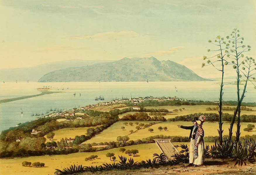 A Picturesque Tour of the Island of Jamaica - Kingston and Port Royal from Windsor Farm (1825)