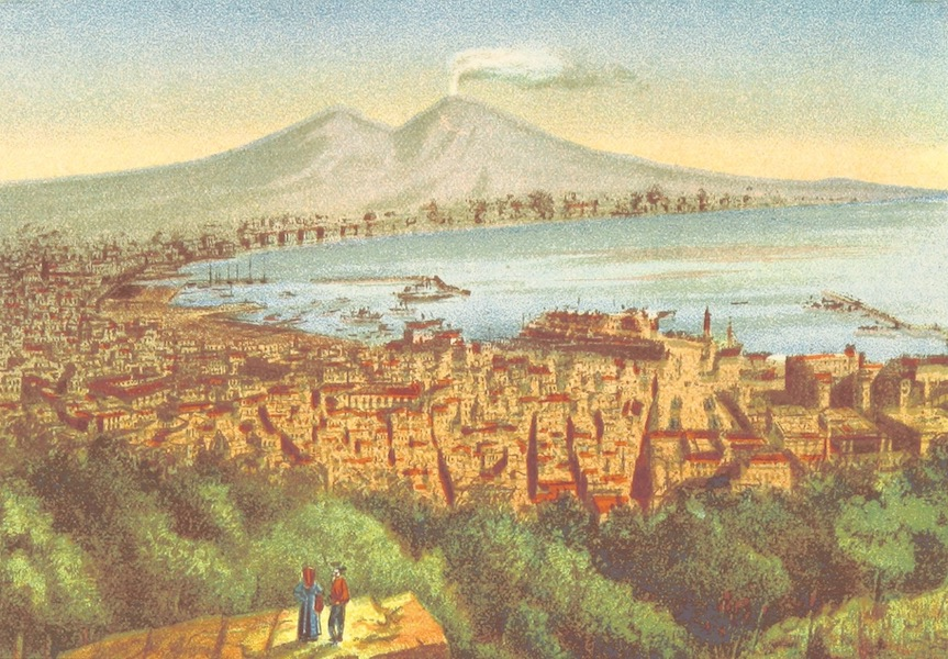 A Pilgrimage to Italy - The Bay of Naples (1899)