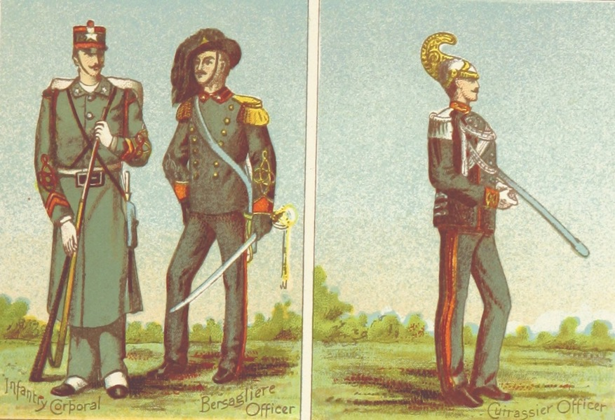 A Pilgrimage to Italy - Types of the Italian Army (1899)