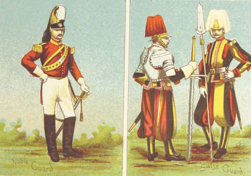 A Pilgrimage to Italy - Types of the Papal Troops (1899)