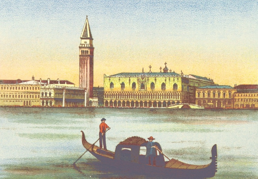 A Pilgrimage to Italy - Venice from the Lagoon (1899)