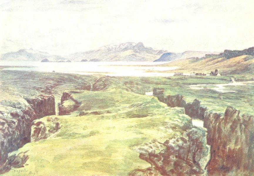 A Pilgrimage to the Saga-Steads of Iceland - The Logberg and Thingvalla Vatn (1899)