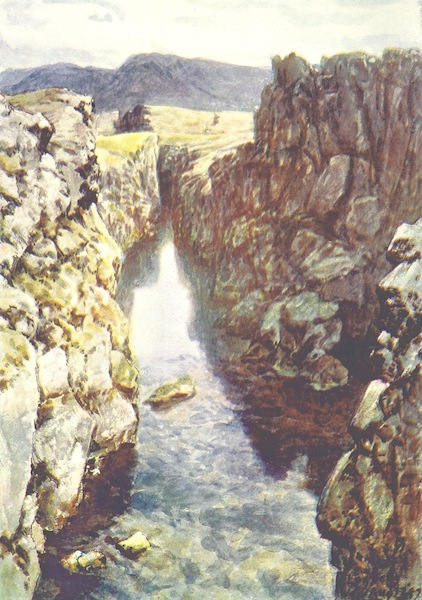 A Pilgrimage to the Saga-Steads of Iceland - The Logberg and Nicolas Chasm (1899)