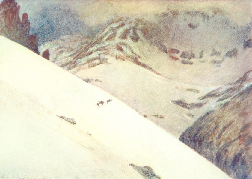A Pilgrimage to the Saga-Steads of Iceland - Descent of Arnardals Skarth (1899)