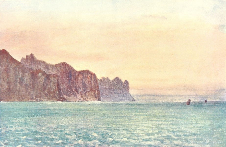 A Pilgrimage to the Saga-Steads of Iceland - The Horn at Sunrise (1899)