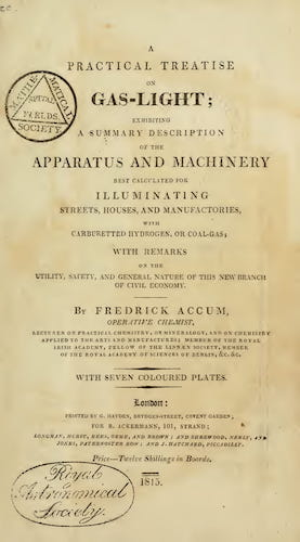 A Practical Treatise on Gas-Light (1815)
